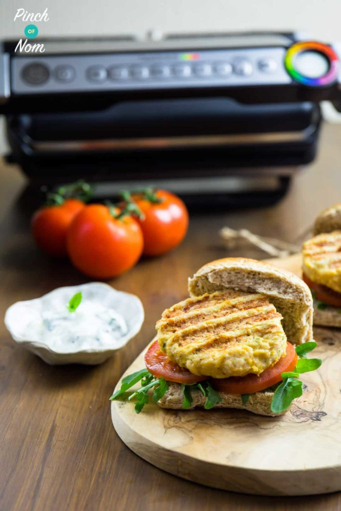 Tikka Turkey Burgers | Slimming & Weight Watchers Friendly