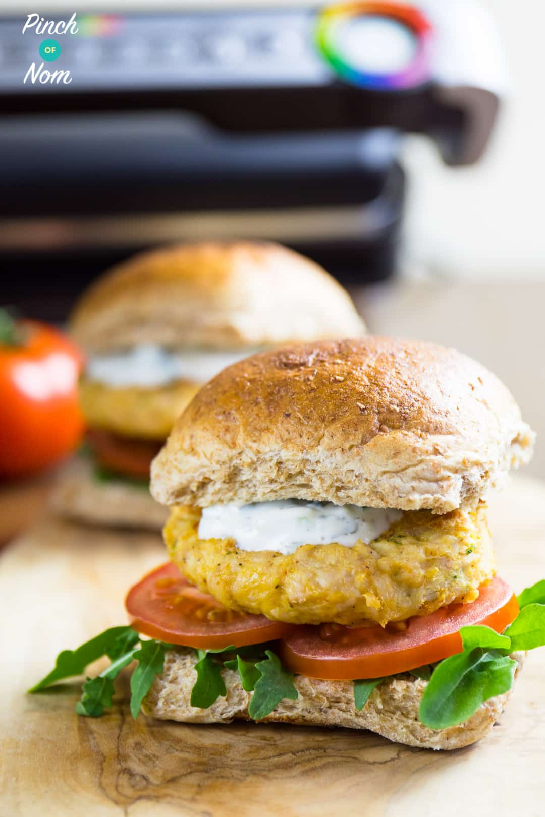 Burgers - Syn Free Tikka Turkey Burgers | Slimming World