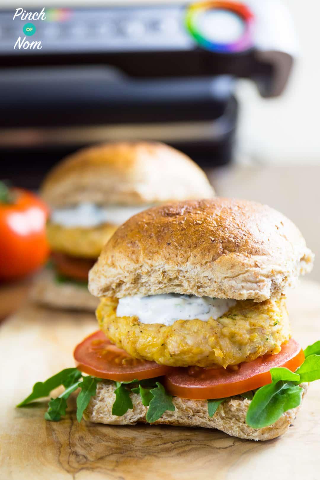 Burgers - Syn Free Tikka Turkey Burgers | Slimming World