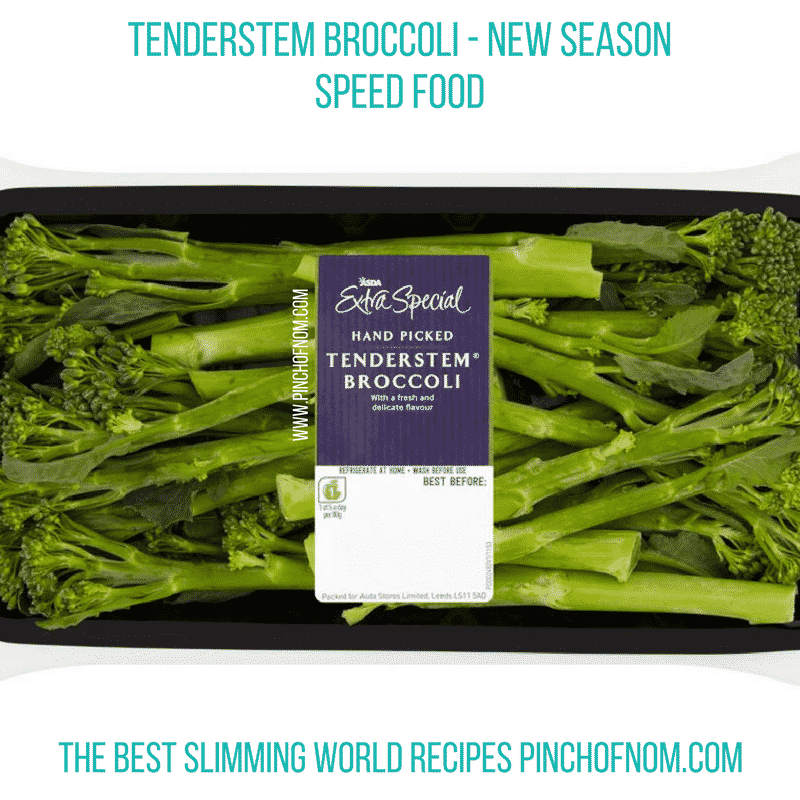 tenderstem broccoli New Slimming World Shopping Essentials