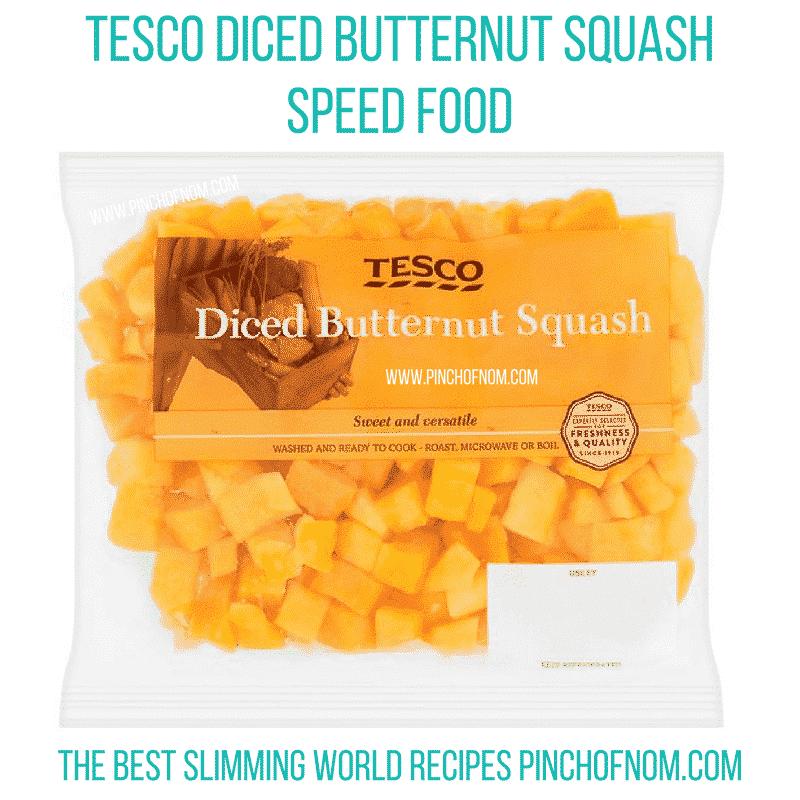 tesco diced butternut squash - new slimming world essentials pinch of nom