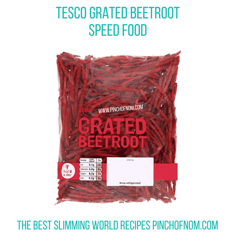 tesco grated beetroot - New Slimming World Shopping Essentials - 23:6:17