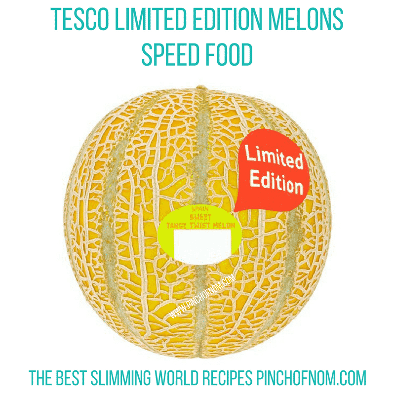 tesco limited edition melon - new Slimming World shopping essentials