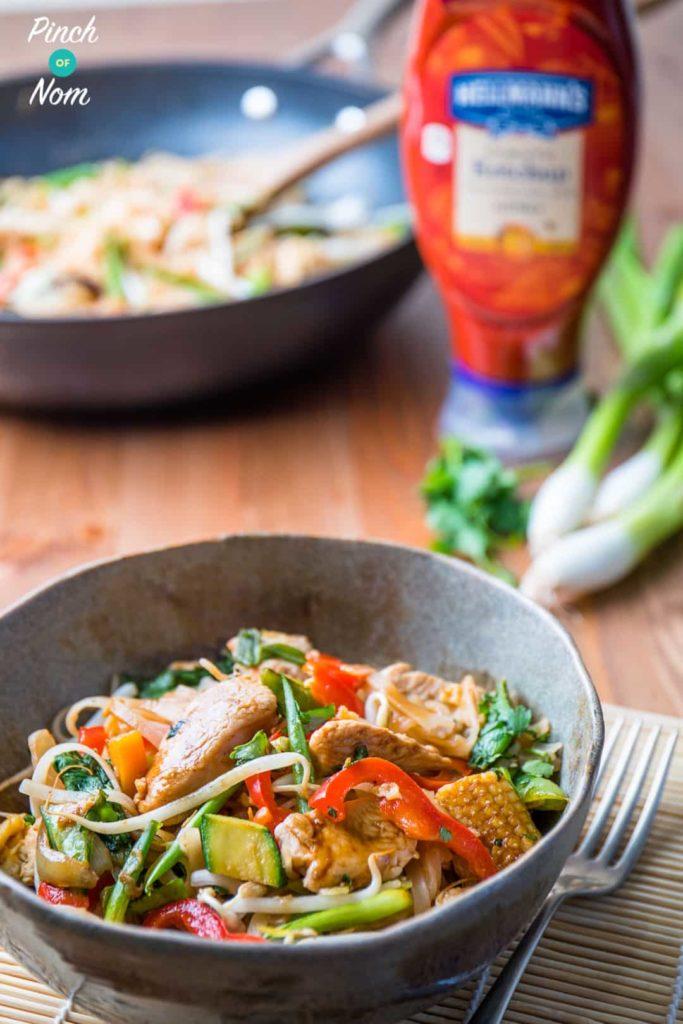 Half Syn Chicken Pad Thai | Slimming World-8
