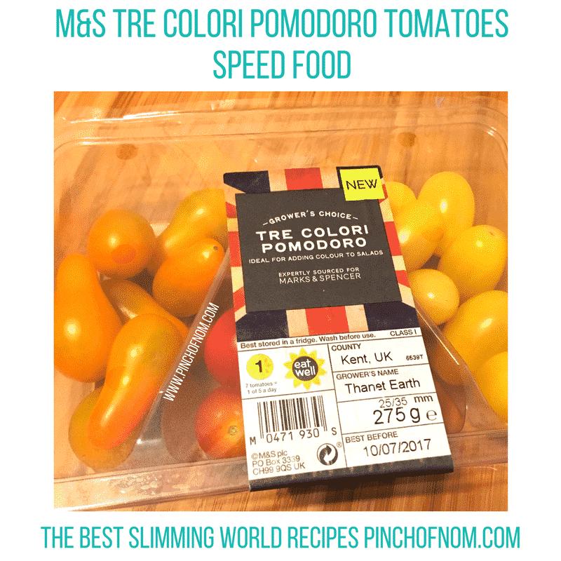 M&S tomatoes - new slimming world essentials pinch of nom