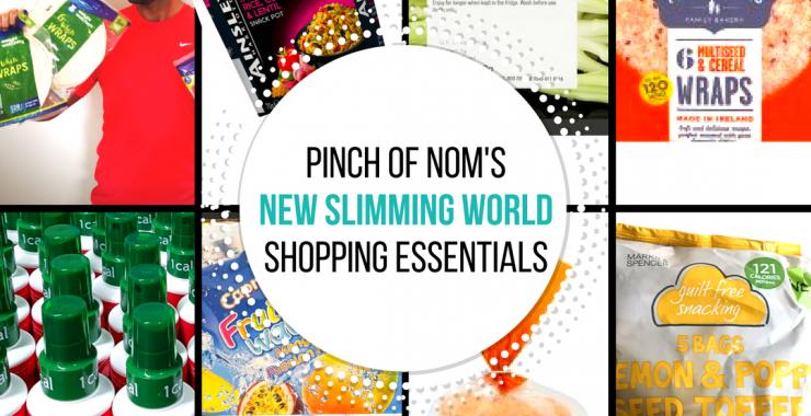 new slimming world shopping essentials - pinch of nom