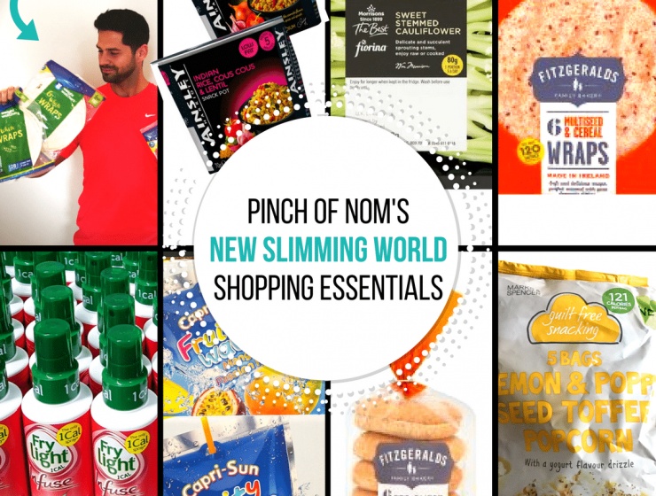 new slimming world shopping essentials - pinch of nom