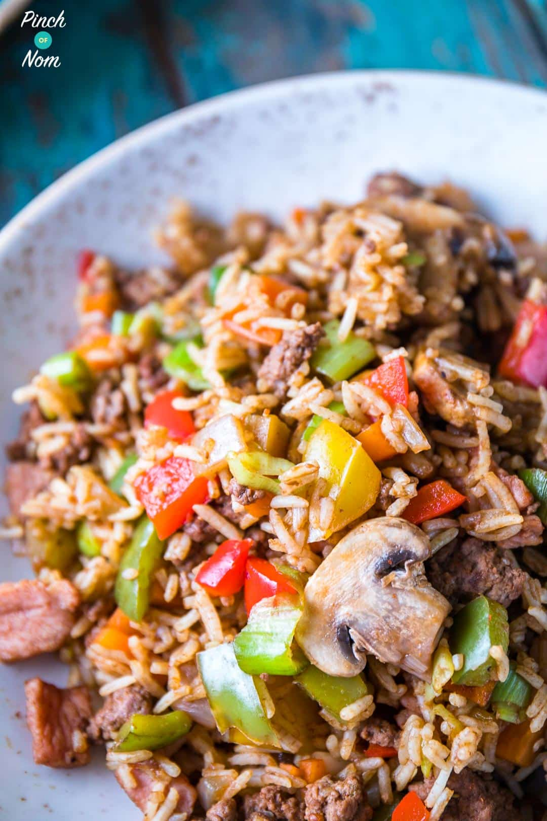 Cajun Dirty Rice | Slimming & Weight Watchers Friendly