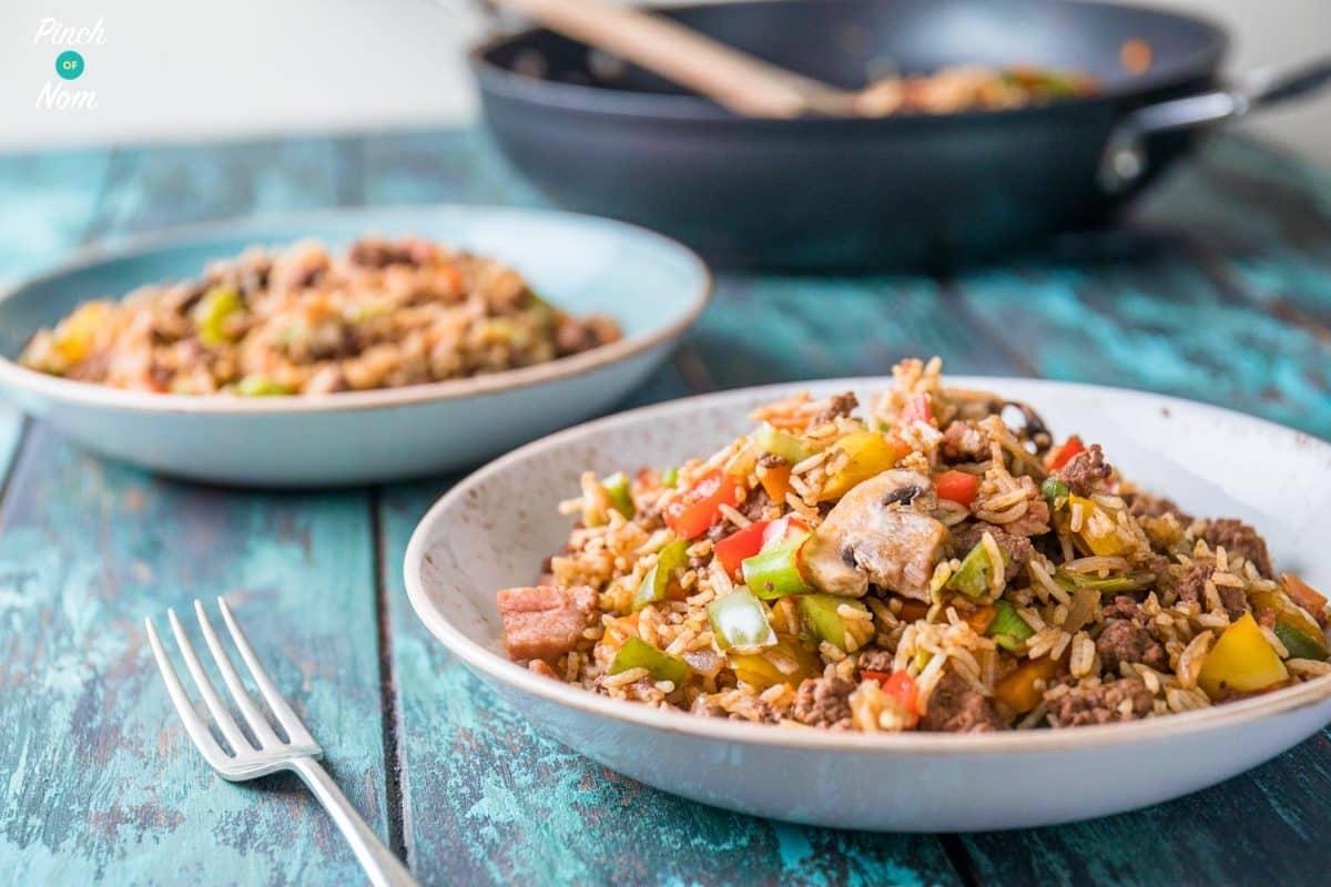 Cajun Dirty Rice | Slimming World & Weight Watchers Friendly