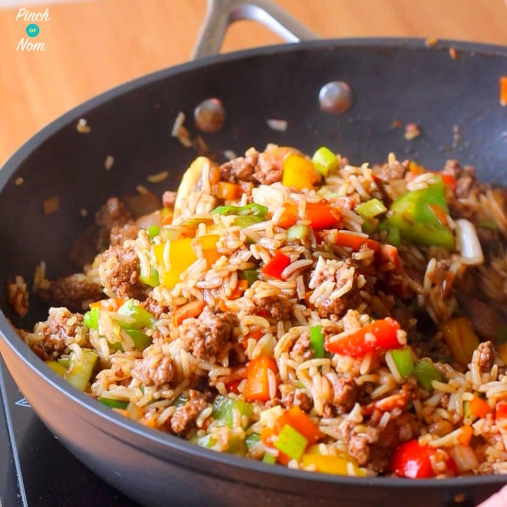 Syn Free Cajun Dirty Rice - steps | Slimming World-1