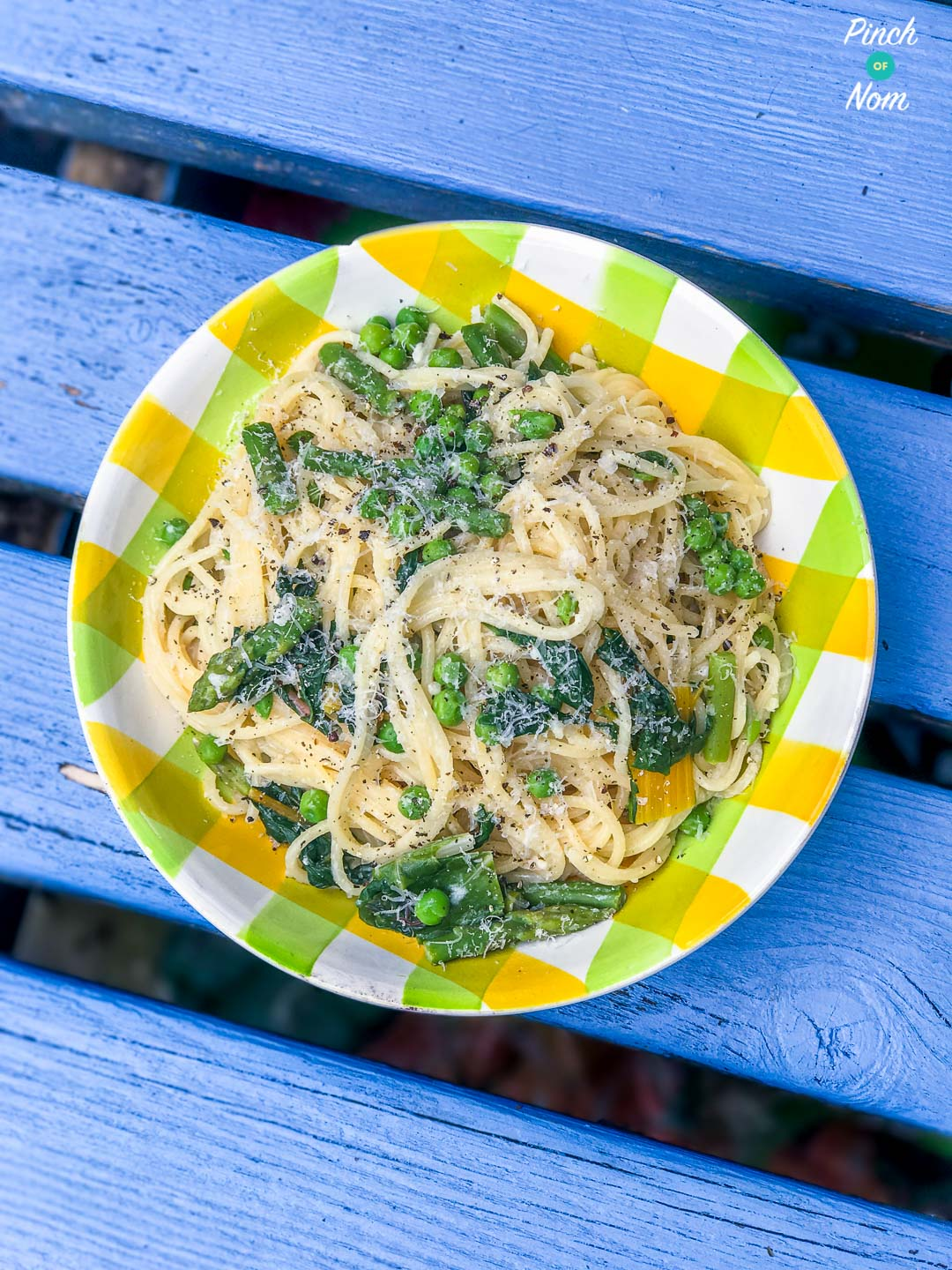 Summer Vegetable Spaghetti | Slimming & Weight Watchers Friendly