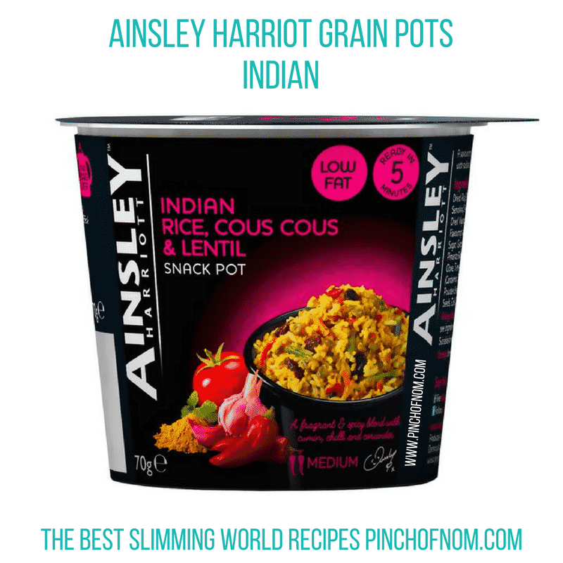 ainsley grain pots indian new slimming world shopping essentials - pinch of nom