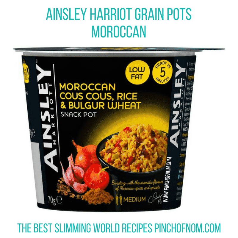 ainsley grain pots moroccan new slimming world shopping essentials - pinch of nom