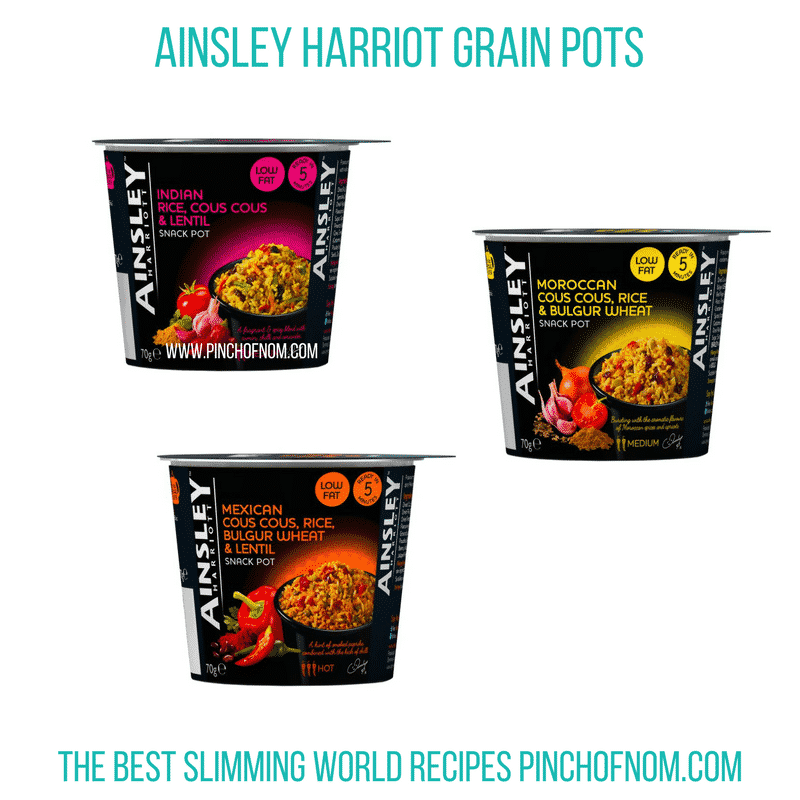 ainsley grain pots - new slimming world shopping essentials - pinch of nom