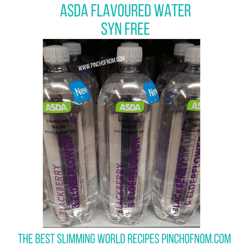 Asda Blackberry water - New Slimming World Shopping Essentials - 21/7/17