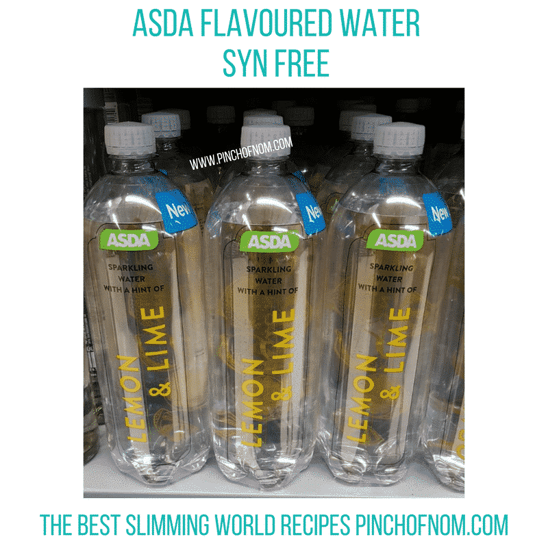 asda water 1- pinch of nom new slimming world essentials