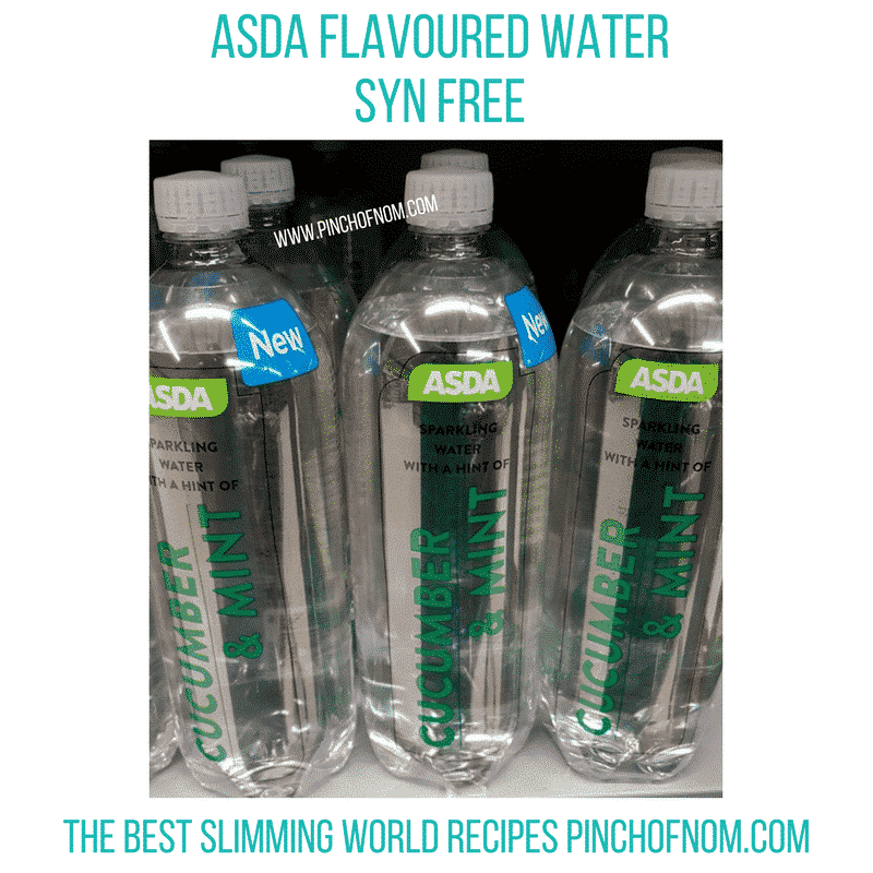 asda water 3 - pinch of nom new slimming world essentials