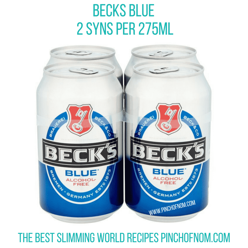 becks blue - - new slimming world shopping essentials pinch of nom