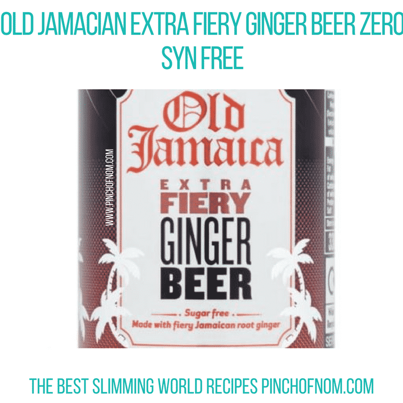 ginger beer - pinch of nom new slimming world essentials