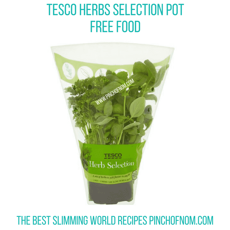 herb selection pot - new slimming world shopping essentials pinch of nom