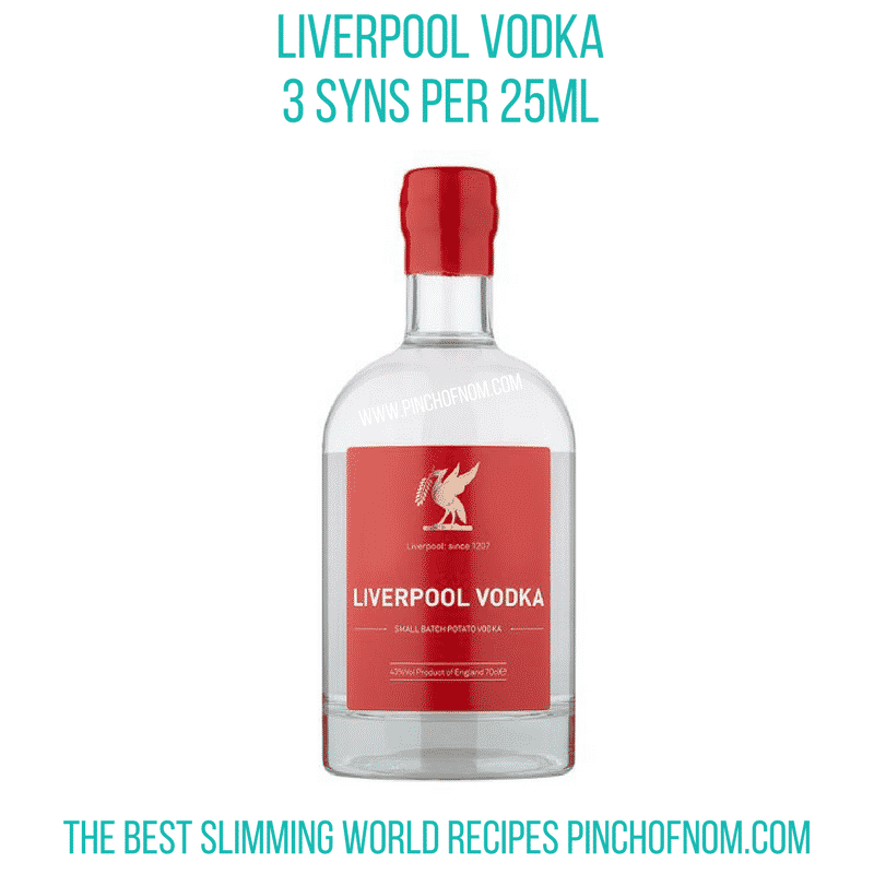 liverpool vodka - new slimming world shopping essentials pinch of nom