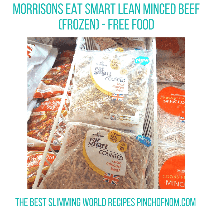 morrisons mince - new slimming world essentials pinch of nom