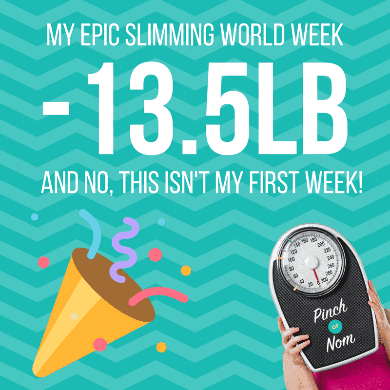 my epic slimming world week pinch of nom