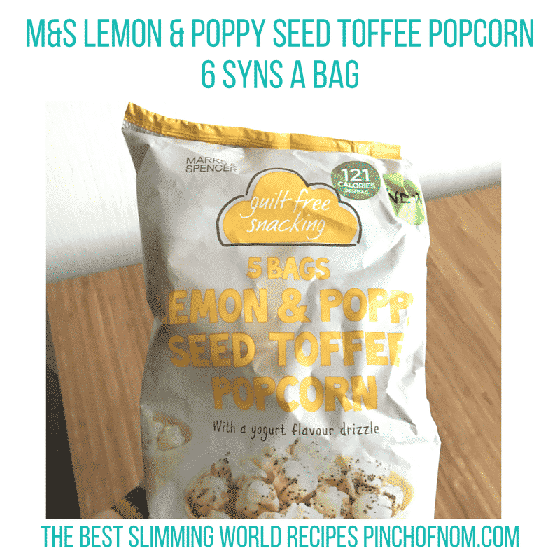 new slimming world essentials pinch of nom - m&s popcorn