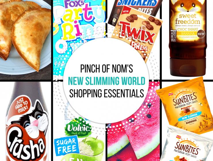 new slimming world shopping essentials pinch of nom 14:7:17