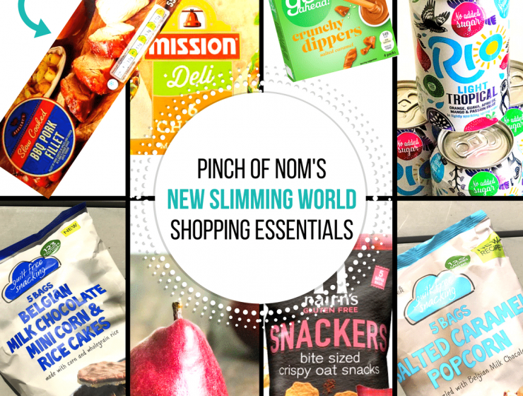 new slimming world shopping essentials pinch of nom 21 july 2017