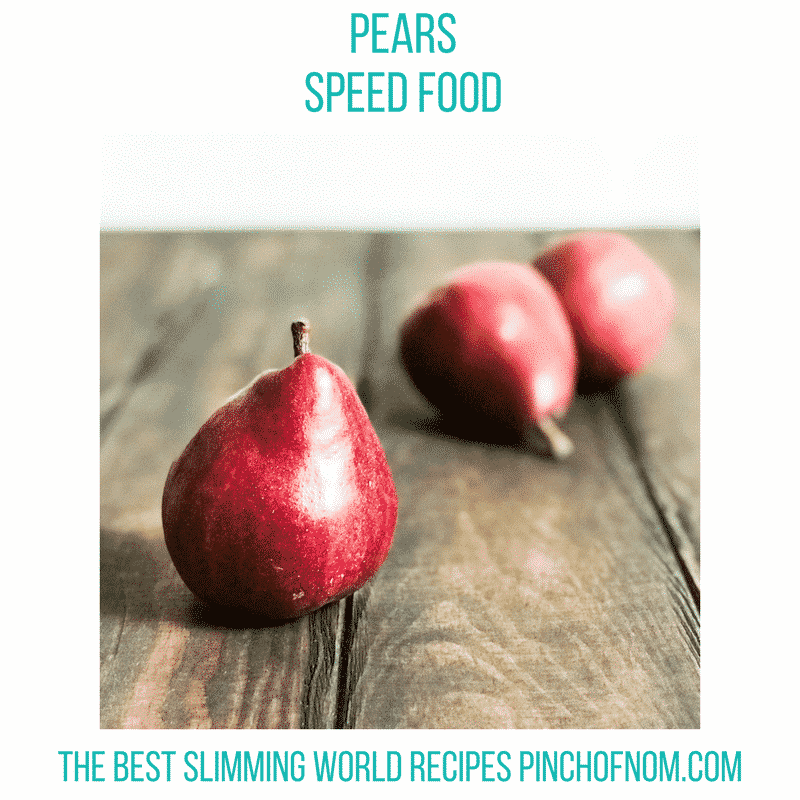 Morrisons Blush Pears - New Slimming World Shopping Essentials - 21/7/17