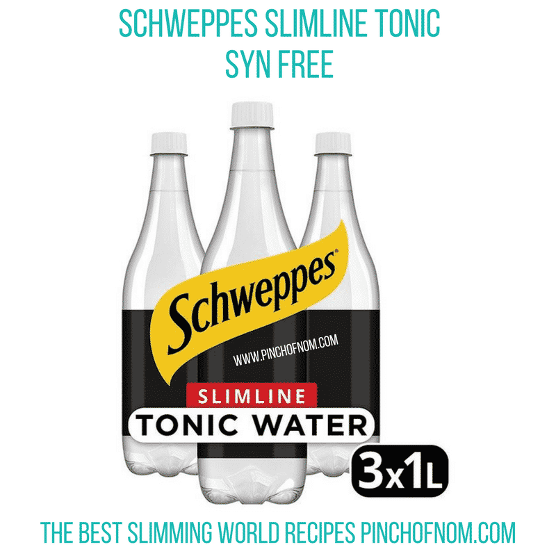 schweppes tonic 3 pack - new slimming world shopping essentials pinch of nom