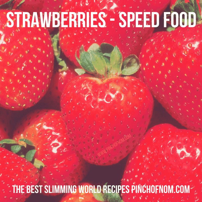 strawberries - new slimming world shopping essentials - pinch of nom