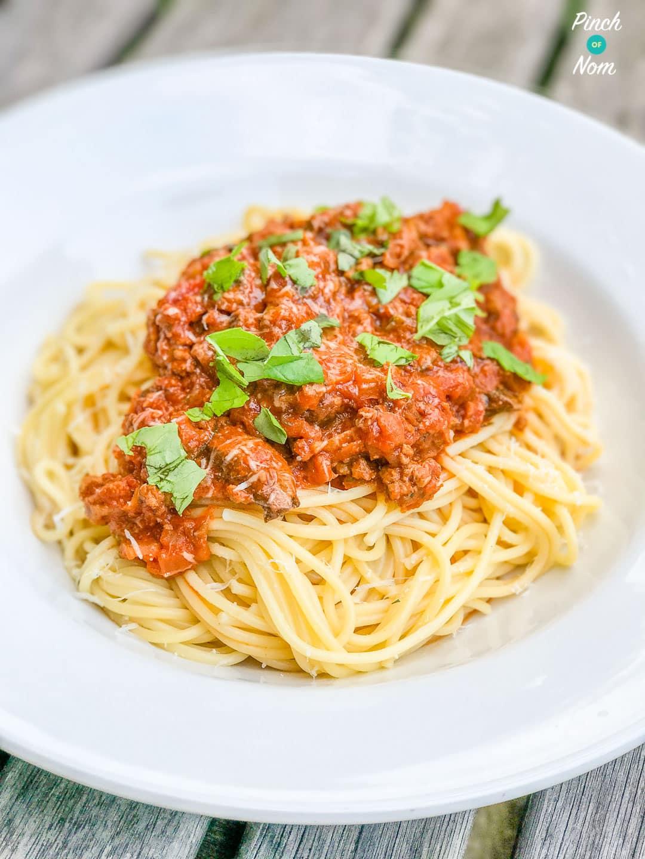 Spaghetti alla Puttanesca | Slimming & Weight Watchers Friendly