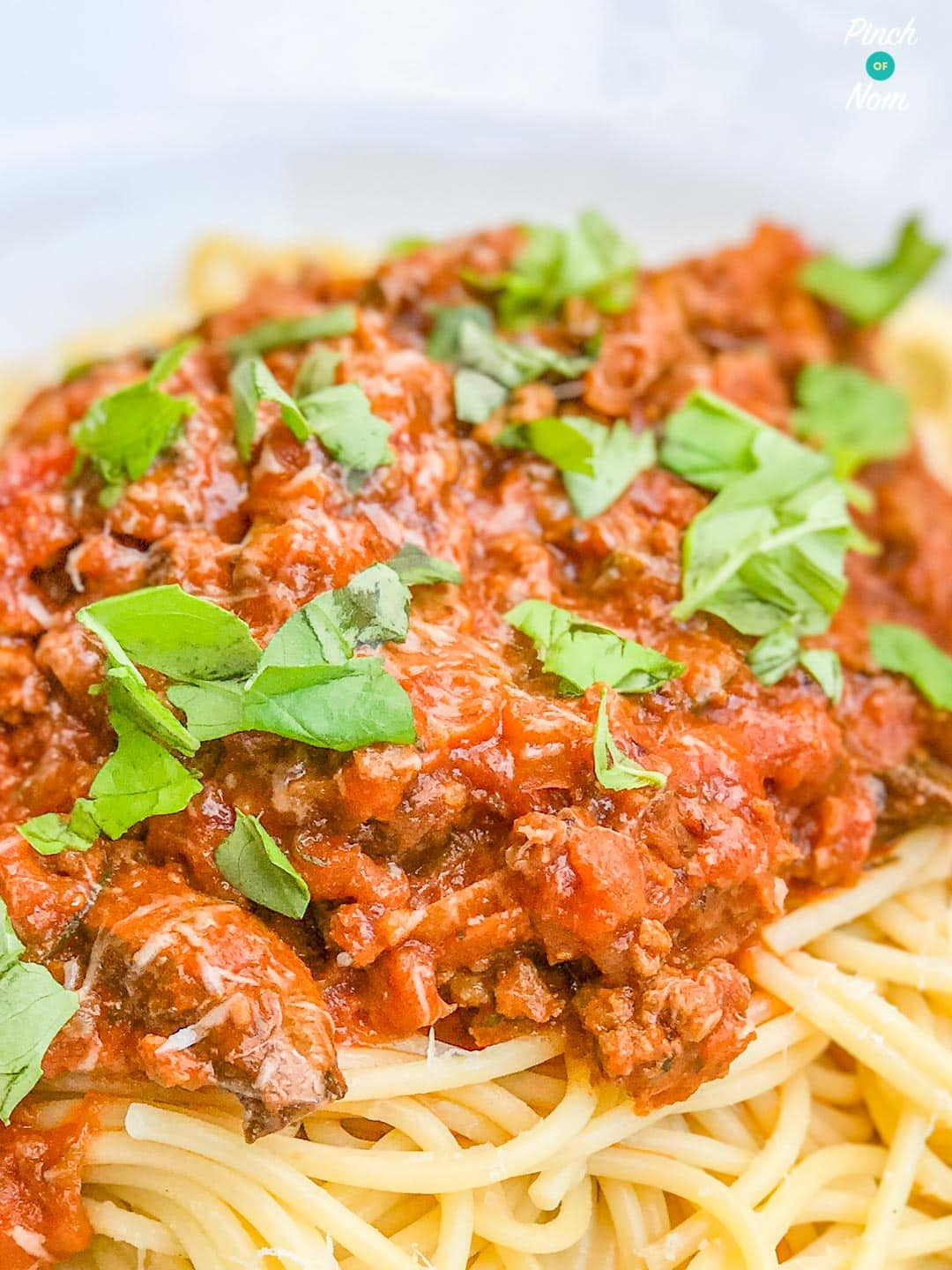 Spaghetti Bolognese | Slimming World & Weight Watchers Friendly
