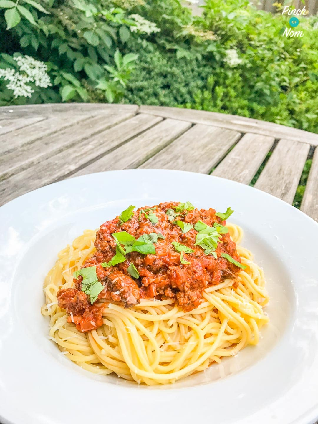 Spaghetti Bolognese | Slimming & Weight Watchers Friendly