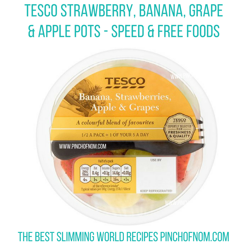 tesco fruit pot - new slimming world shopping essentials - pinch of nom