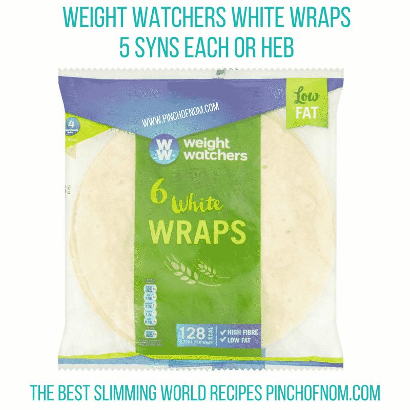 weight watchers wraps - new slimming world essentials pinch of nom