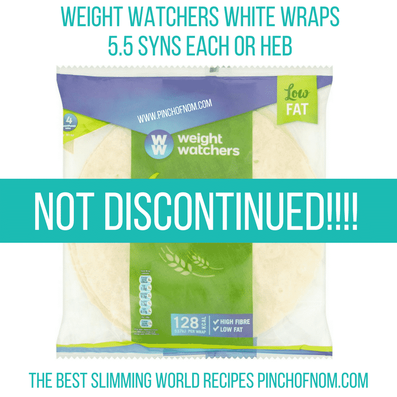 weight watchers wraps - new slimming world shopping essentials pinch of nom