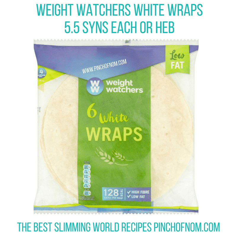 weight watchers wraps - new slimming world essentials pinch of nom
