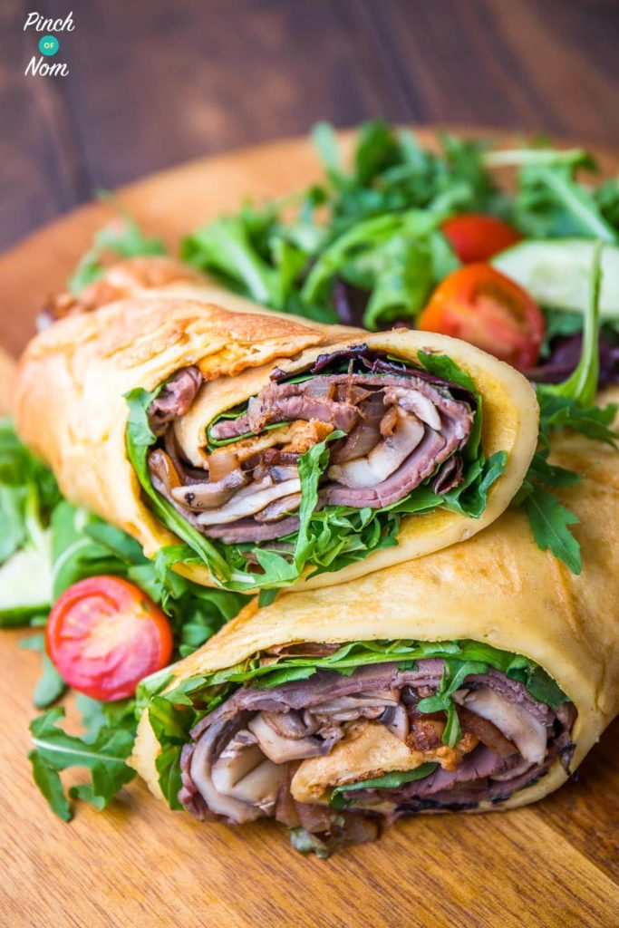 Yorkshire Pudding Wrap | Slimming & Weight Watchers Friendly