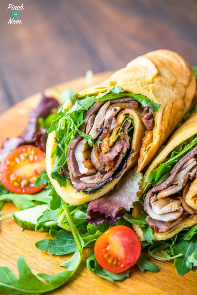 Low Syn Yorkshire Pudding Wrap | Slimming World-1