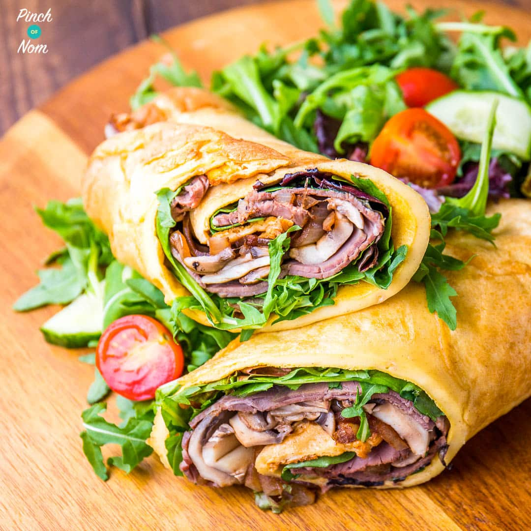 Low Syn Yorkshire Pudding Wrap | Slimming World - Pinch Of Nom