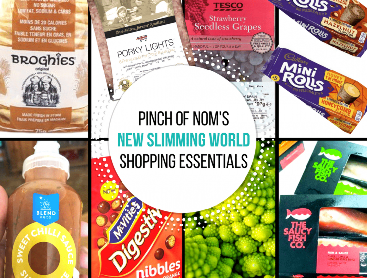 Slimming World Shopping essentials - pinch of nom