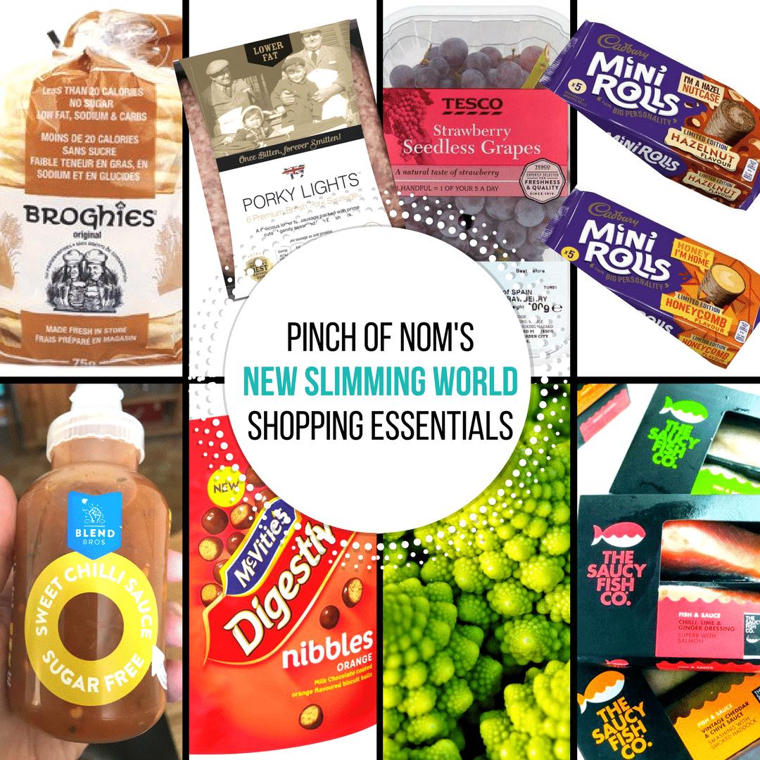 New Slimming World Shopping Essentials 4 8 17 Pinch Of Nom