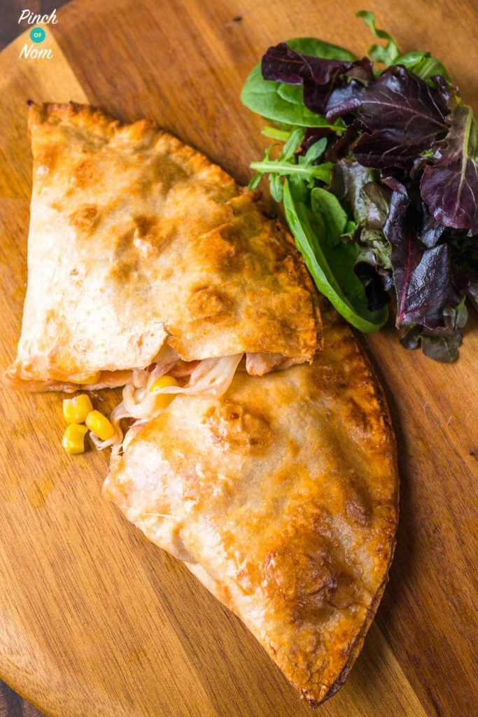 Syn Free chicken and sweetcorn pizza calzone - steps | Slimming World-7