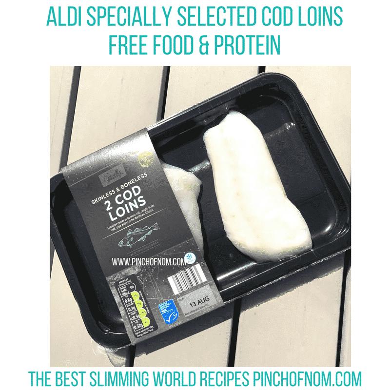 aldi cod loins slimming world new shopping essentials pinch of nom