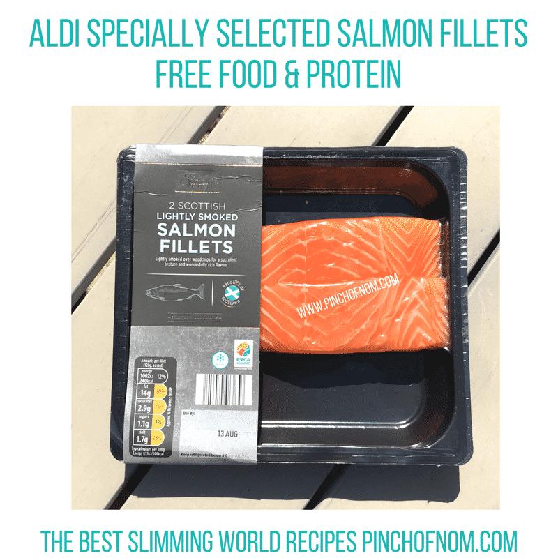 aldi salmon slimming world new shopping essentials pinch of nom