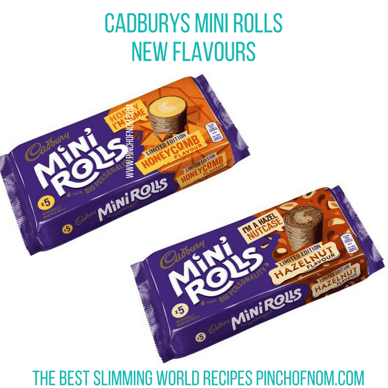cadburys new mini rolls - new slimming world essentials - pinch of nom