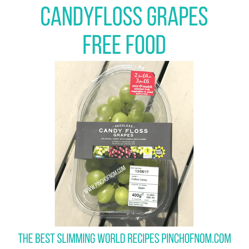 candy-floss-grapes-slimming world new shopping essentials pinch of nom